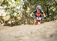 Picture by Alex Broadway/SWpix.com - 09/09/17 - Cycling - UCI 2017 Mountain Bike World Championships - XCO - Cairns, Australia - Kate Courtney of The USA competes in the Women's Under 23 Cross Country Final.