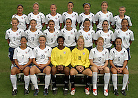 USWNT team shot prior to WWC 2003