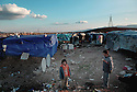 Iraq 2010.Suleimania, district of Kalawa desplaced Arabs  from the south of Iraq in a camp.<br /> Irak 2010.Souleimania: Arabes irakiens du sud du pays dans un camp du quartier de Kalawa