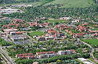 University of Colorado, Boulder.  Aerial May 2013