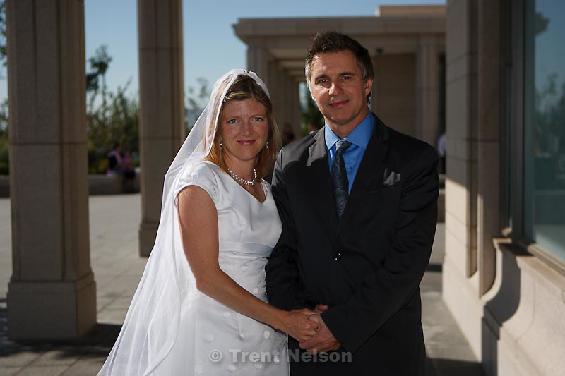 David Scott, Maddie Scott temple wedding in South Jordan, Utah, Saturday, September 3, 2011.