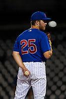 AZL Cubs 1 relief pitcher Brandon Hughes (25) during an Arizona League game against the AZL Padres 1 on July 5, 2019 at Sloan Park in Mesa, Arizona. The AZL Cubs 1 defeated the AZL Padres 1 9-3. (Zachary Lucy/Four Seam Images)