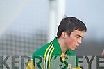 Paul Murphy  Kerry in action against   Cork IT in the semi final of the McGrath Cup at John Mitchells Grounds on Sunday.