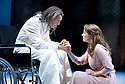 All's Well That Ends Well  by William Shakespeare. A Royal Shakespeare Company Production directed by Nancy Meckler .With Greg Hicks as King of France, Joanna Horton as Helena. Opens at The Royal Shakespeare  Theatre on 25/7/13  pic Geraint Lewis