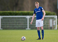 Morgan Feeney of Everton during the U23 - Premier League 2 match between Tottenham Hotspur U23 and Everton at Tottenham Training Ground, Hotspur Way, England on 15 January 2018. Photo by Vince  Mignott / PRiME Media Images.