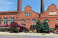 The Greater Cleveland Aquarium, which occupies the historic Powerhouse building, is located in the Flats district on the banks of the Cuyahoga River.  The Aquarium opened to the public at the beginning of 2012