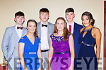 Talented Kerry Basketballers who were honoured at the Kerry Sports awards in the Gleneagle Hotel on Friday night front row l-r: Paris McCarthy,Síofra O'Shea, Tania Salvado. Back row: Ronan Collins, Rap Buivydas and Daire Kennelly