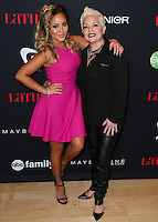 WEST HOLLYWOOD, CA, USA - NOVEMBER 13: Adrienne Bailon, Nilda Felix arrive at the Latina Magazine's '30 Under 30' Party held at SkyBar at the Mondrian Los Angeles on November 13, 2014 in West Hollywood, California, United States. (Photo by Xavier Collin/Celebrity Monitor)