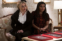 Ocean's 8 (2018)<br /> (Ocean's Eight)<br /> Helena Bonham Carter &amp; Mindy Kaling<br /> *Filmstill - Editorial Use Only*<br /> CAP/MFS<br /> Image supplied by Capital Pictures