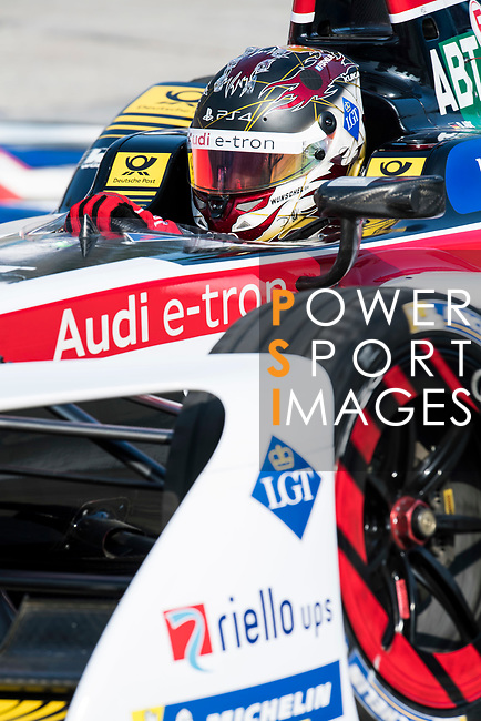 Daniel Abt of Germany from Audi Sport ABT Schaeffler competes during the FIA Formula E Hong Kong E-Prix Round 2 at the Central Harbourfront Circuit on 03 December 2017 in Hong Kong, Hong Kong. Photo by Victor Fraile / Power Sport Images