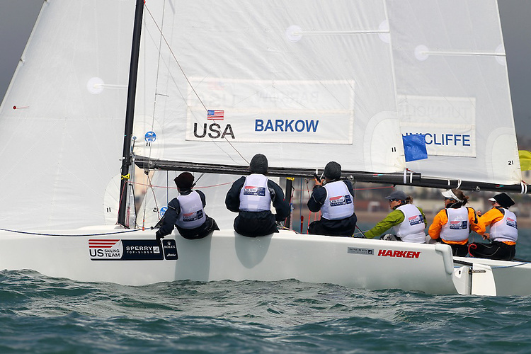 The US Olympic Team Qualifying Regatta, May 4th-9th, 2012.....© Richard Langdon/Ocean Images. Image copyright free for editorial use only. For any other use please contact Richard Langdon by phone at +44 7850 913500 or email richard@oceanimages.co.uk.