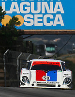 May 17, 2009: The #58 Porsche Riley of David Donohue and Darren Law in action at the Verizon Festival of Speed Grand-Am Rolex Series race at Mazda Raceway at Laguna Seca  in Salinas, CA. (Photo by Brian Cleary/www.bcpix.com)