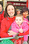 Leah and Deirdre O'Broin Killarney enjoying the Killarney parade on Saturday