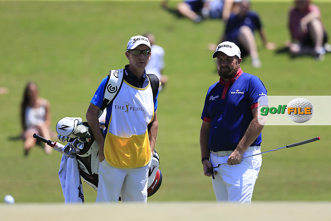 Shane Lowry (IRL) during round 3 of the Players, TPC Sawgrass, Championship Way, Ponte Vedra Beach, FL 32082, USA. 14/05/2016.<br /> Picture: Golffile   Fran Caffrey<br /> <br /> <br /> All photo usage must carry mandatory copyright credit (&copy; Golffile   Fran Caffrey)