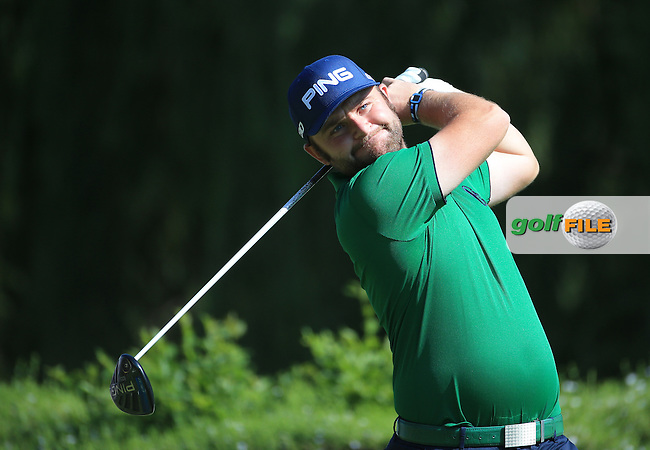 Andy Sullivan(ENG) drives from the 16th  during Round Two of the 2016 BMW SA Open hosted by City of Ekurhuleni, played at the Glendower Golf Club, Gauteng, Johannesburg, South Africa.  08/01/2016. Picture: Golffile | David Lloyd<br /> <br /> All photos usage must carry mandatory copyright credit (&copy; Golffile | David Lloyd)