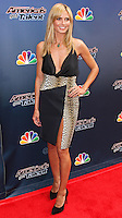 "HOLLYWOOD, LOS ANGELES, CA, USA - APRIL 22: Model Heidi Klum arrives at NBC's ""America's Got Talent"" Red Carpet Event held at the Dolby Theatre on April 22, 2014 in Hollywood, Los Angeles, California, United States. (Photo by Xavier Collin/Celebrity Monitor)"