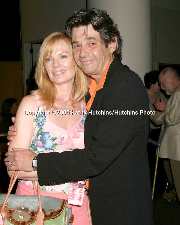 Marg Helgenberger.Alan Rosenberg.SAG Press Conference marking 15th Anniv of Disabilities Act.Los Angeles, CA.July 26, 2005.©2005 Kathy Hutchins / Hutchins Photo
