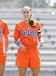 Florida's Daniela Sanchez on Sunday September 17th, 2006 at Koskinen Stadium on the campus of the Duke University in Durham, North Carolina. The University of North Carolina Tarheels defeated the University of Florida Gators 1-0 in an NCAA Division I Women's Soccer game.