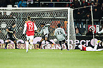 Nederland, Alkmaar, 19 januari  2013.Eredivisie.Seizoen 2012/2013.AZ-Vitesse 4-1.Jozy Altidore van AZ scoort de 3-0