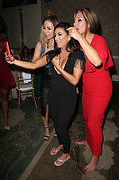 BEVERLY HILLS, CA - OCTOBER 12: ***HOUSE COVERAGE***  Anjelah Johnson, Eva Longoria and Alex Meneses at the Eva Longoria Foundation Gala at The Four Seasons Beverly Hills in Beverly Hills, California on October 12, 2017. Credit: Faye Sadou/MediaPunch