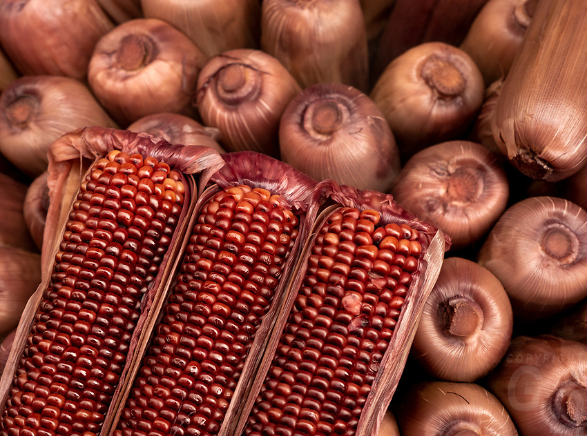 Brown Corn, Street Photography in Manila, Devisoria and China Town, Philippines