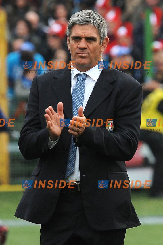 Nick Mallett, allenatore Italia<br /> Italia vs Francia - Italy Vs France<br /> RBS 6 Nations Rugby Championship 2011<br /> Stadio Flaminio;<br /> Roma, 12/03/2011<br /> Photo Antonietta Baldassarre Insidefoto
