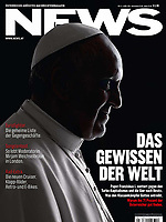 News Austrian Magazine Pope Francis Photograph by Stefano Spaziani
