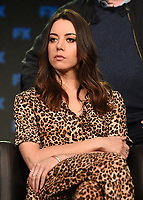 PASADENA, CA - FEBRUARY 4: Cast Member Aubrey Plaza during the LEGION panel for the 2019 FX Networks Television Critics Association Winter Press Tour at The Langham Huntington Hotel on February 4, 2019 in Pasadena, California. (Photo by Frank Micelotta/FX/PictureGroup)