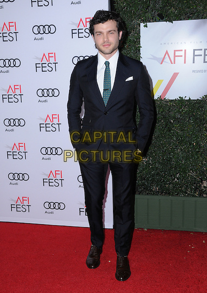 10 November 2016 - Hollywood, California. Alden Ehrenreich. AFI FEST 2016 - Opening Night Premiere Of &quot;Rules Don't Apply&quot; held at TCL Chinese Theater.  <br /> CAP/ADM/BT<br /> &copy;BT/ADM/Capital Pictures