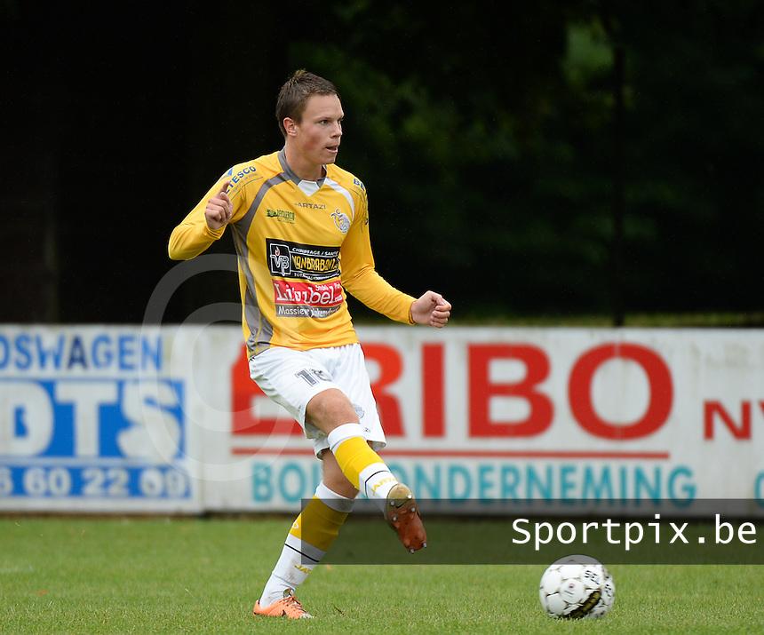 SC Wielsbeke : Jens Decoster <br /> Foto VDB / Bart Vandenbroucke