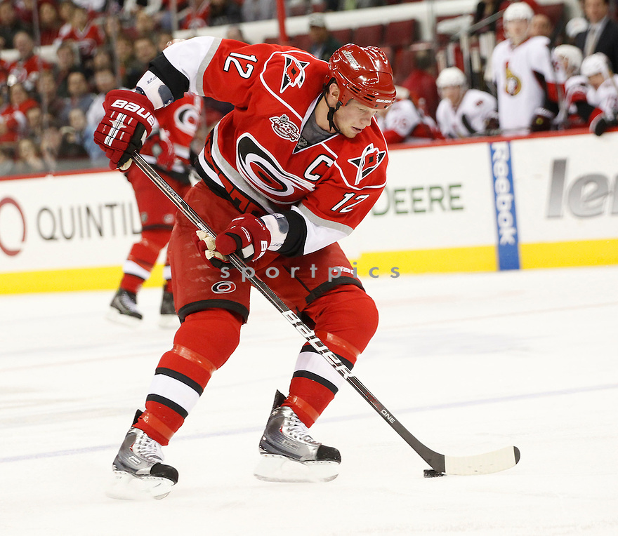 ERIC STAAL, of the Carolina Hurricanes.