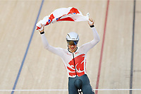 Charlie Tanfield of England wins gold in the Men's 4000m Individual Pursuit. Gold Coast 2018 Commonwealth Games, Track Cycling, Anna Meares Velodrome, Brisbane, Australia. 6 April 2018 © Copyright Photo: Anthony Au-Yeung / www.photosport.nz /SWpix.com