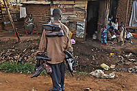 Nakulabye slum area just outside of Kampala... this area is distinguished by having LOTS of children... the Namirembe Parents Primary School is in this area as well.