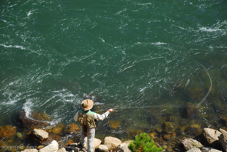 Yellowstone National Park offers various activities for its visitors.  The Yellowstone River is one such attraction that invites family outings and explorations. Flyfishing is also very popular along the river.
