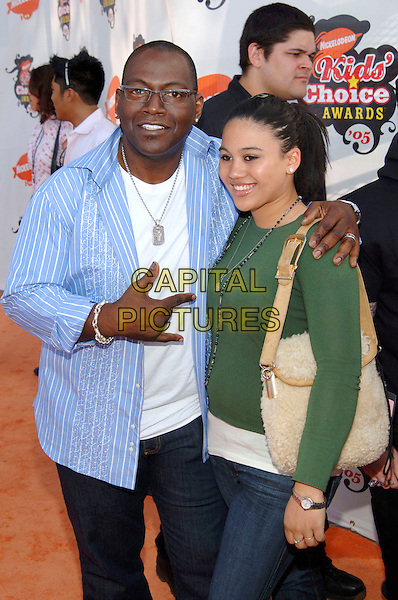 RANDY JACKSON.Attend Nickelodeon's 18th Annual Kids' Choice Awards held at UCLA's Pauley Pavilion, Westwood, California, USA,.2nd April 2005..half length pointing guest.Ref: ADM.www.capitalpictures.com.sales@capitalpictures.com.©Jacqui Wong/AdMedia/Capital Pictures.