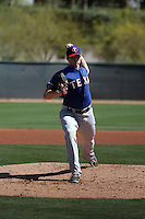 Wes Benjamin - Texas Rangers 2016 spring training (Bill Mitchell)