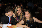 All My Children JQ DePaiva poses with Victoria (C) (both known each other since little as both hard of hearing) and friend Samantha as they attend the 19th Annual Feast benefitting the Center for Hearing and Communication - Connect to Life on October 22, 2012 at Chelsea Pier 60, New York City, New York.  (Photo by Sue Coflin/Max Photos)