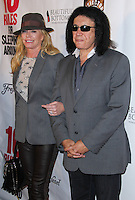 "HOLLYWOOD, LOS ANGELES, CA, USA - APRIL 01: Shannon Tweed, Gene Simmons at the Los Angeles Premiere Of Screen Media Films' ""10 Rules For Sleeping Around"" held at the Egyptian Theatre on April 1, 2014 in Hollywood, Los Angeles, California, United States. (Photo by Xavier Collin/Celebrity Monitor)"