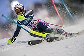 8th February 2019, Are, Sweden; Alpine skiing: Combination, ladies: Alexandra Coletti from Monaco on the slalom track.