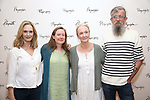 Lisa Emery, Sarah Ruhl, Kathleen Chalfant, and Les Waters attend the meet & Greet for Playwrights Horizons New York Premiere pf 'For Peter Pan on her 70th Birthday' on July 25, 2017 at the Playwrights Horizons Studios at  in New York City.