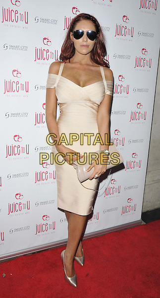 LONDON, ENGLAND - JULY 24: Amy Childs attends the JuiceToU 1st anniversary &amp; re-branding party, Sanctum Soho Hotel, Warwick St., on Thursday July 24, 2014 in London, England, UK. <br /> CAP/CAN<br /> &copy;Can Nguyen/Capital Pictures