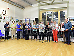 The Drumshallon Singers at the Social evening in Drumshallon Forge. Photo:Colin Bell/pressphotos.ie