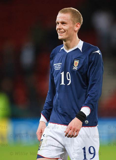 Scott Robertson, Scotland