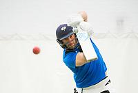 Picture by Allan McKenzie/SWpix.com - 05/04/2018 - Cricket - Yorkshire County Cricket Club Training - Headingley Cricket Ground, Leeds, England - TIm Bresnan bats.