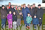 CONGRATULATION: A special presentation was made to Tom Murphy onMonday at the Kingdom Cup meeting at Ballybeggan Park, Tralee as Tom..retires from the Leading Leather Slippers in the Country andpresenting tom with a waterford crystal bowl  was Chairman of the Kerry Coursing club Martin Enright also in pic were his family andfriends. Front Ria Fealy, Jamews Murphy, Clodagh and Tom McElligott. 2nd row l-r: Nora Marie Murphy, William O'Connell, Michael Murphy(leather slipper), martin Enright (chairman), Mary Murphy,Tom..Murphy, Kieran O'Brien, Tom Mulachy, Dan O'Brien and D.J.Hickson...............