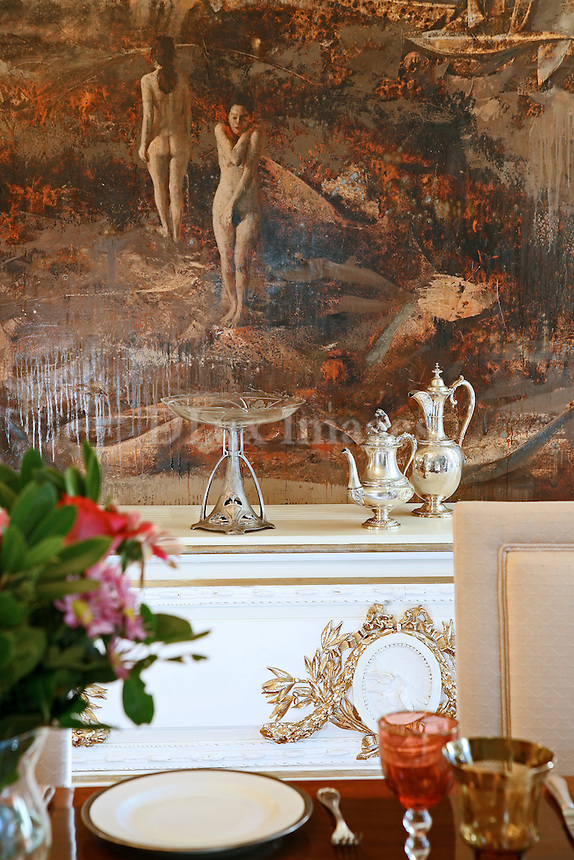 luxury neoclassical dining room