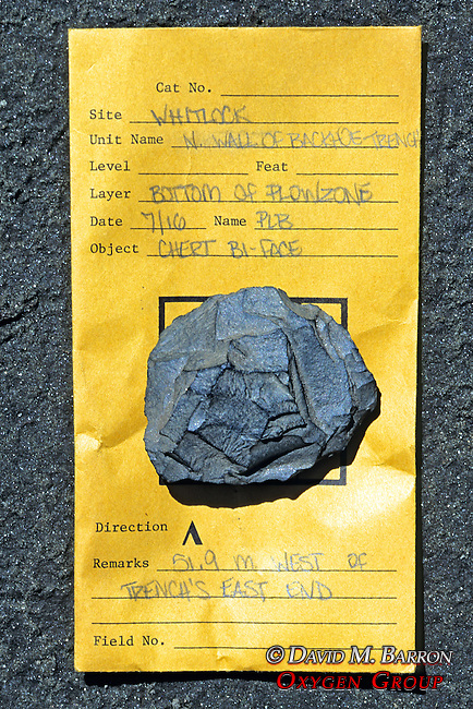 Artifact Found At Archeological Site