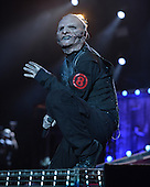 WEST PALM BEACH, FL - JULY 24: Corey Taylor of Slipknot performs at The Coral Sky Amphitheater on July 24, 2015 in West Palm Beach Florida. Credit Larry Marano © 2015