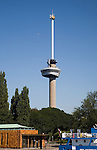 185 metre high Euromast tower Rotterdam, Netherlands completed 1960