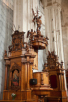 Baroque furnishings in Bernadine Church
